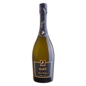 Bottiglia di EUKÈ Cuvée Prestige