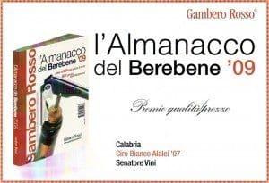 Alaei - Almanacco del BereBene 2009 - Gambero-Rosso