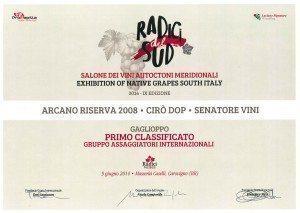Arcano Riserva - Diploma Radici Wines 2014