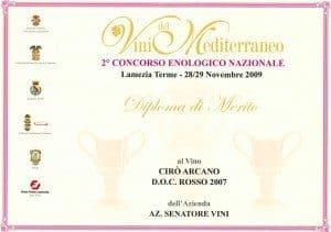 Arcano - Vini del Mediterraneo 2009