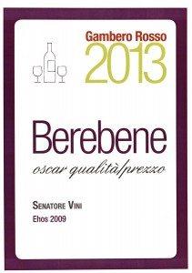 Ehos - BereBene 2013 - Gambero-Rosso