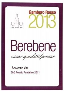 Puntalice - BereBene 2013 - Gambero Rosso
