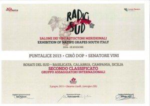 Puntalice - Diploma Radici Wines 2014