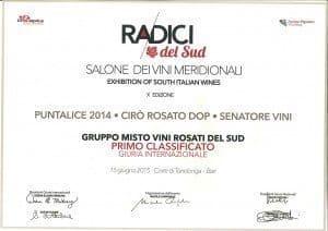 Puntalice - Diploma Radici Wines 2015