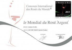 Puntalice - Le Mondial du Rosé - 2013