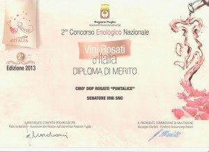 Puntalice - Vini Rosati d'Italia 2013