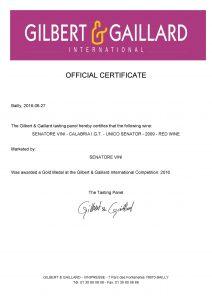 G&G-Gold-Medal-2016-UNICO-SENATOR-2009