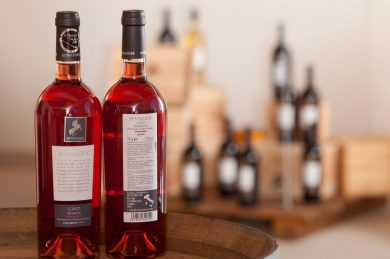 """Rosé produced from red grapes passing through the """"white winemaking"""""""