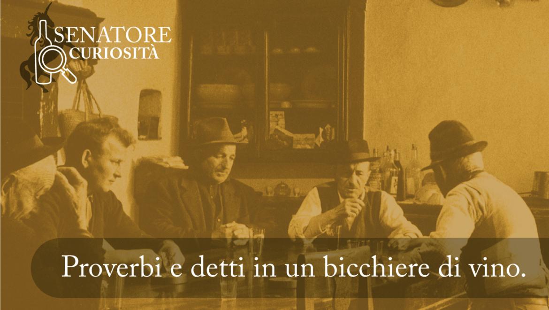 Modi di dire sul vino, ma da dove derivano?